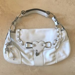 Juicy Couture Ivory flap bag GORGEOUS!!!